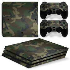 Sony Ps4 PlayStation 4 Pro Skin Sticker Screen Protector Set Camouflage 3 Motif