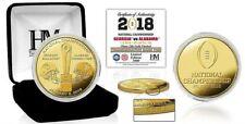 2018 College Football National Championship Bama v Georgia Gold Mint Coin