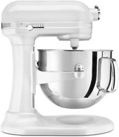 KitchenAid Refurbished 7-Quart Pro Line Bowl-Lift Stand Mixer | Frosted Pearl