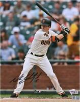 "Mike Yastrzemski San Francisco Giants Autographed 8"" x 10"" Hitting Photograph"