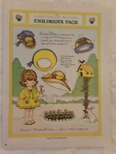 Joan Walsh Anglund  Set of 2 Paper Doll Pages