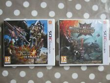 2 jeux MONSTER HUNTER GENERATIONS & ULTIMATE Nintendo new 2DS 3DS / Neuf / FRA