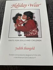 Holiday Wear Knit Patterns For American Girl Dolls & Children By Judith Shangold