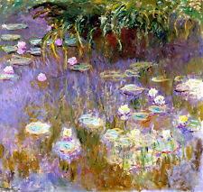 Water Lilies by Claude Monet A1+ High Quality Art Print