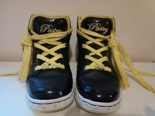 GIRLS PASTRY GLAM PIE RUN ATHLETIC TRAINERS SIZE 23CM INSIDE SOLE 25 CM