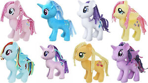 My Little Pony Plush soft Toys movie MLP Licensed Rainbow Dash Pinkie Pie Rarity