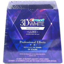 Crest 3D White Professional Whitening Effects Whitestrips (20 pouches/40 strips)