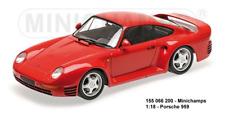 Minichamps 155066200 - Scale 1:18 - Porsche 959 1987 Red