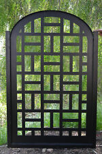 Metal Gate Contemporary Modern Pedestrian Walk Thru Entry Garden Iron Made in US