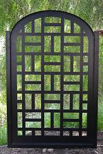Metal Gate Contemporary Modern Pedestrian Walk Thru Entry Garden Iron Made  In US