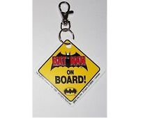 Batman porte cles officiel en pvc Batman on Board keychain