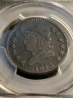 1813 CLASSIC HEAD LARGE CENT S-292 PCGS Ch XF Beautiful!!!