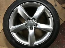 "GENUINE OEM AUDI A8 S8 19"" SPARE ALLOY WHEEL & 7MM TYRE 4H0601025L"