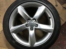 """Genuine OEM Audi A8 S8 19"""" Lega Ruota Di Scorta & Pneumatico 7 mm 4H0601025L"""