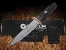 Boker Tree Brand Small Applegate Fixed Blade Knife Black Delrin 120546