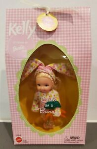 Barbie Kelly Easter Cute as a Bunny Kelly Doll Vintage 2002 New Sealed Box