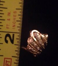 Women's 4 1/2 10K Gold Diamond Ring