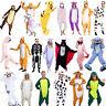 Fancy Dress Cosplay Adult Unisex Kigurumi Pyjamas Animal Sleepwear Halloween