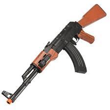 UKARMS Spring Action AIRSOFT Tactical AK47 RIFLE Gun LASER SIGHT w/ 6MM BBs