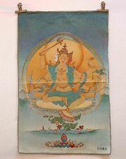 Tibet Collectable Silk Hand Painted Buddha Thangka 009