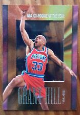 GRANT HILL 1995-96 Skybox Hoops CO ROOKIE OF YEAR ACETATE DETROIT PISTONS