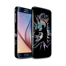 Housses et coques anti-chocs noir brillant pour téléphone mobile et assistant personnel (PDA) Samsung