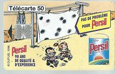 Télécarte carte téléphonique Persil Petit Spirou