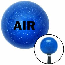 Black Air Blue Metal Flake Shift Knob USA Shifter Auto Manual gear truck car fly
