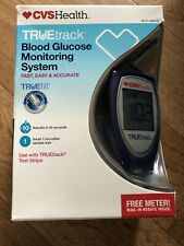 CVS Health TRUEtrack Blood Glucose Monitoring System Blood Sugar Tester
