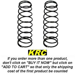 TLR243019 REAR SHOCK SPRING (2), SILVER 3.6 RATE, RESSORTS ARRIERE 8IGHT 3.0-4.0