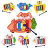 Kids Baby 4 Tone Musical Educational Animal Developmental Music Bell Toys Gifts