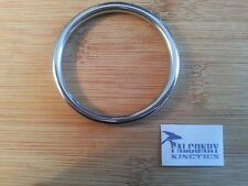 Falconry Stainless Steel Tethering Ring