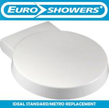 Euroshowers Round Soft Close Toilet Seat Ideal Standard Space Metro Alternative