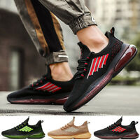 Men's Air Cushion Sports Sneakers Athletic Fashion Casual Tennis Running Shoes