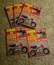 Honda trail 70 72cc guide book z50 CT Cl SL Xl minitrail mini bike CT70 WOW