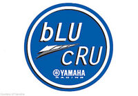"YAMAHA FUN BIKE ""BLU-CRU"" STICKER KITS GENUINE PARTS & ACCESSORIES"