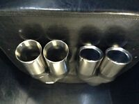 HOLDEN COMMODORE VE SEDAN/WAGON SPORTS REAR PIPES.