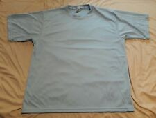 NWOT MENS KOMFIT ATHLETIC POLYESTER SHIRT XXL BABY BLUE
