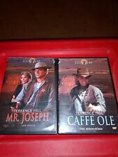 Terrence Hill Mr Joseph volume 1 / Cafe Ole volume 5 set of 2 movies lot