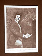 Il compositore Pietro Antonio Stefano Mascagni di Livorno nel 1899