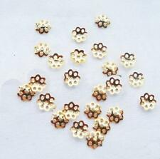 50pcs Sequins Gold Flower Embossed  Applique Holiday Costume Sewing Craft #13