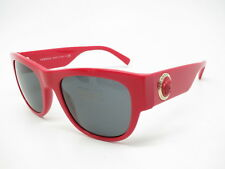 6d42705644199 New Versace VE 4359 5065 87 Red with Grey Sunglasses
