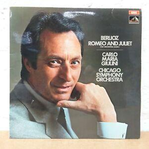 ASD 2606 BERLIOZ Romeo and Juliet GIULINI CHICAGO SYMPH ORCH  HMV STEREO LP NM
