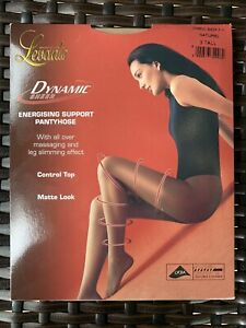 LEVANTE Dynamic Energising Support Slimming  Control Top Pantyhose Sz 3 Tall NIP