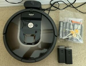 IROBOT ROOMBA 980 VACUUM CLEANING ROBOT WIFI VIRTUAL WALL NO RESERVE EXTRA PARTS