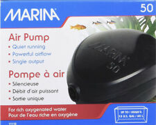 Marina Air Pump 50 Aquarium Fish Tank Air Bubbles Oxygen Clear Water Aeration