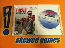 Rapala Pro Bass Fishing 2010 - Wii Nintendo COMPLETE