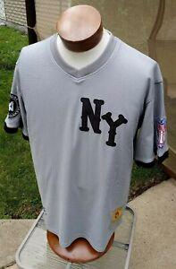 New York Black Yankees Negro League Baseball Jersey Size Large