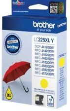 Genuine unused original Brother LC225XL High Capacity  Yellow ink cartridge