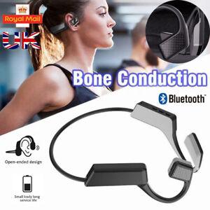 New Wireless Bluetooth Bone Conduction Headset Sport Stereo Headphones Earphones